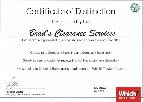 Brad's Rubbish Clearance